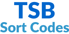 TSB Sort Codes